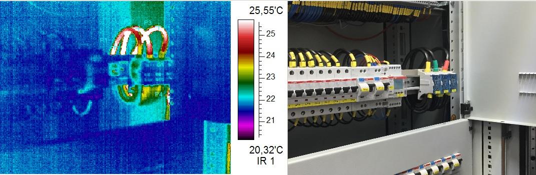 Инфракрасное термографическое обследование электрооборудования