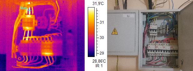 Тепловизионное обследование силовых трансформаторов
